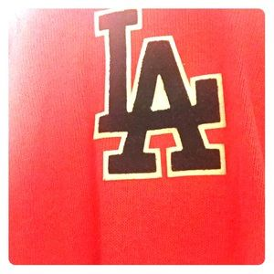 L.A red long sleeve sweeter